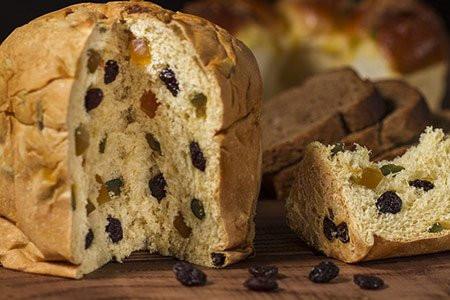 Christmas Panettone Bread
