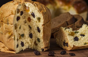 Christmas Panettone Bread
